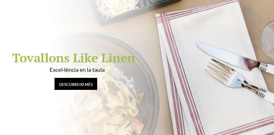Tovallons Like Linen | Excel·lència en la taula