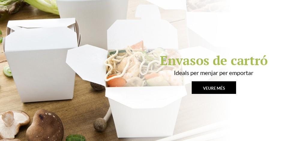 Envasos de cartró | Ideals per menjar per emportar