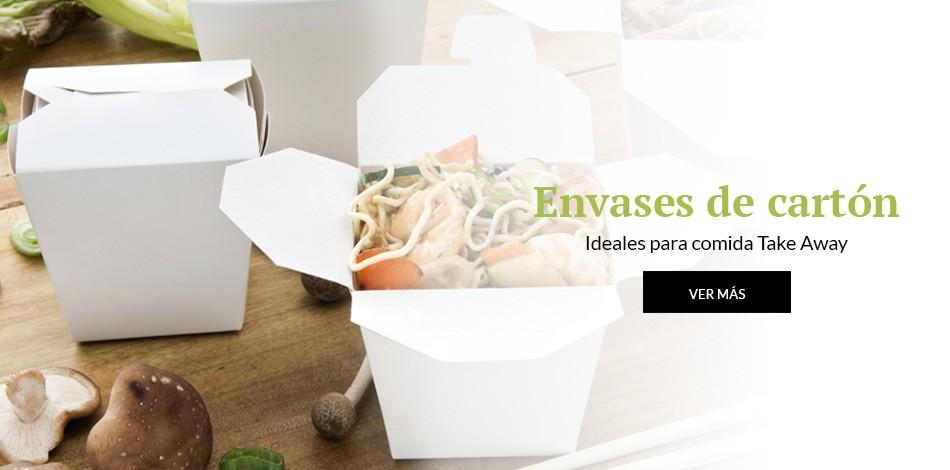 Envases de cartón | Ideales para comida Take Away