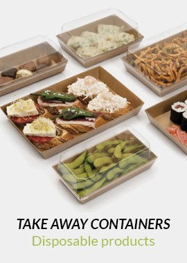 Take away containers | Disposable products | Horecazon