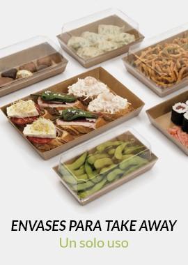 Envases de cartón | Un solo uso | Horecazon